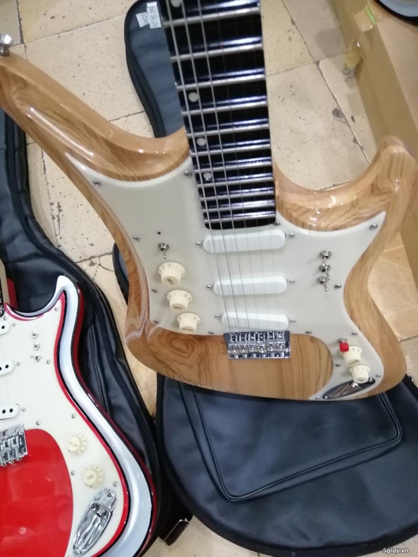 Bán đàn guitar điện cổ nhac - guitar điện vọng cổ giá rẻ tphcm - 1