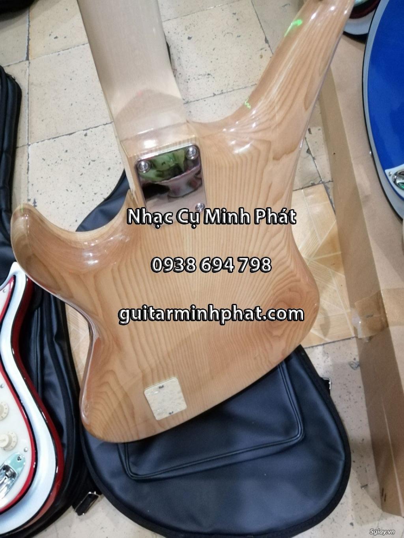 Bán đàn guitar điện cổ nhac - guitar điện vọng cổ giá rẻ tphcm - 7