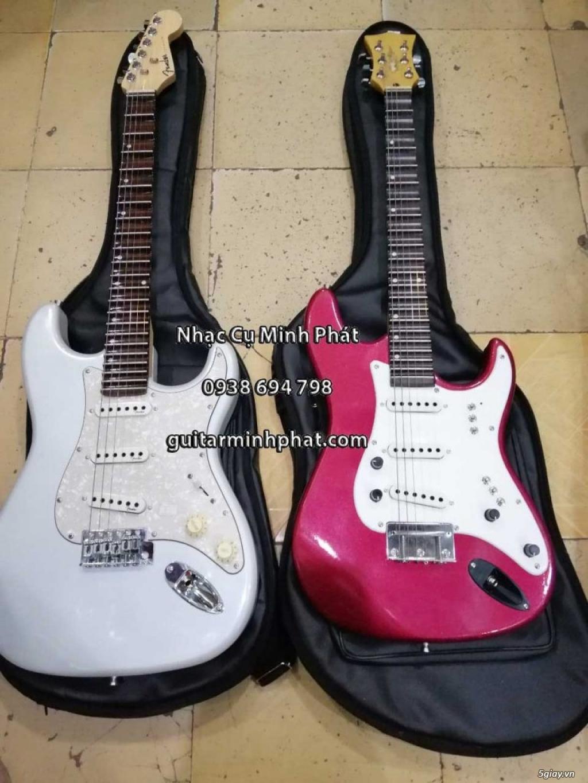 Bán đàn guitar điện cổ nhac - guitar điện vọng cổ giá rẻ tphcm - 6