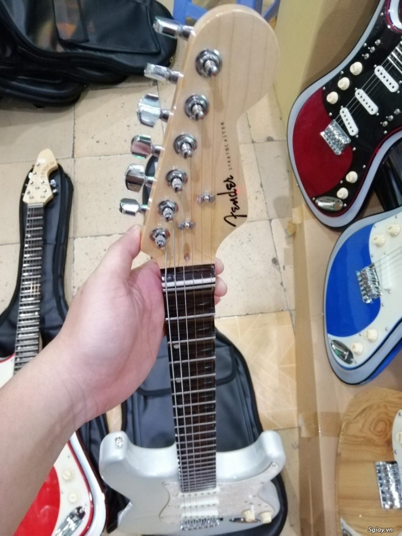 Bán đàn guitar điện cổ nhac - guitar điện vọng cổ giá rẻ tphcm - 2