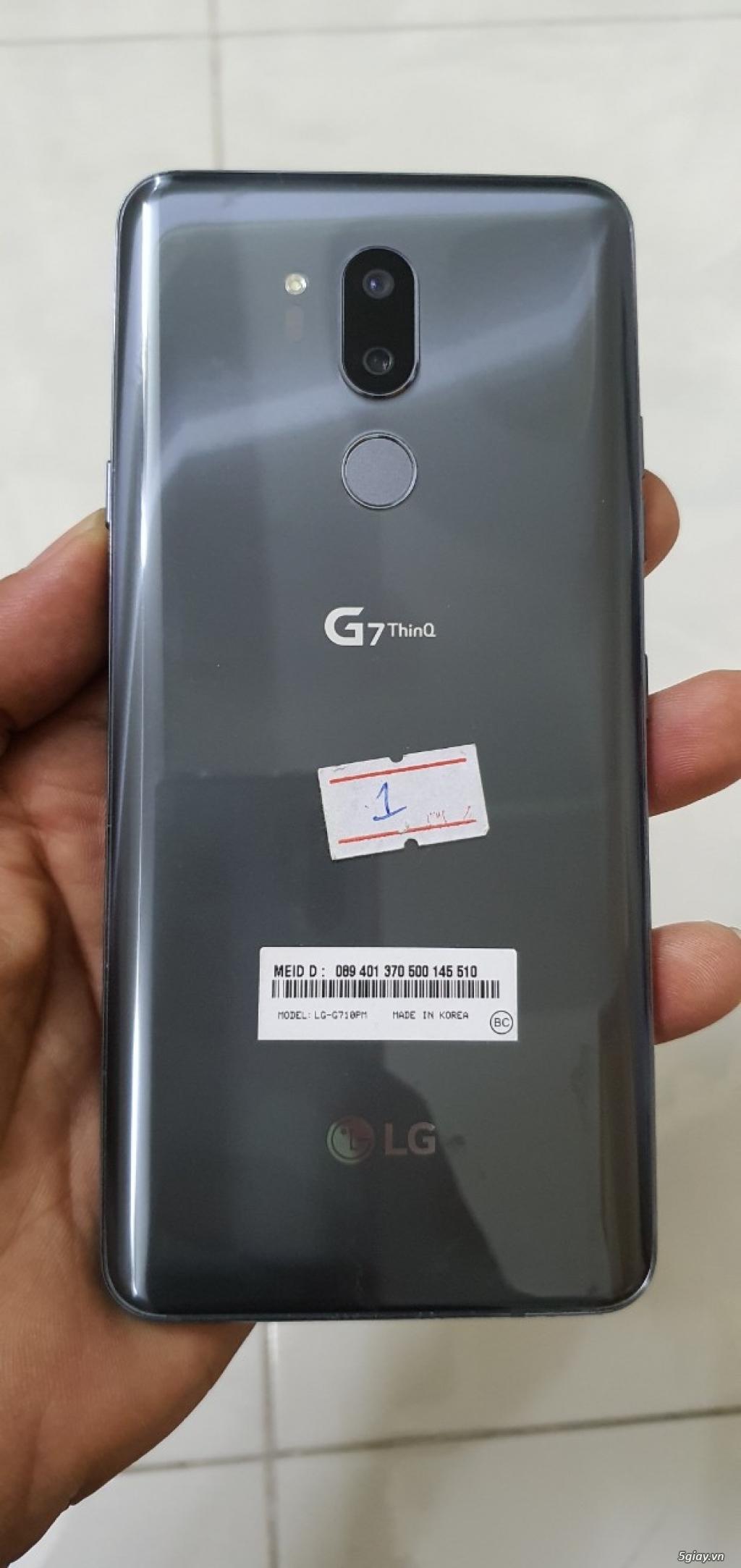 Bán LG G7 ThinQ 4Gb/64GB Hàn Quốc Likenew