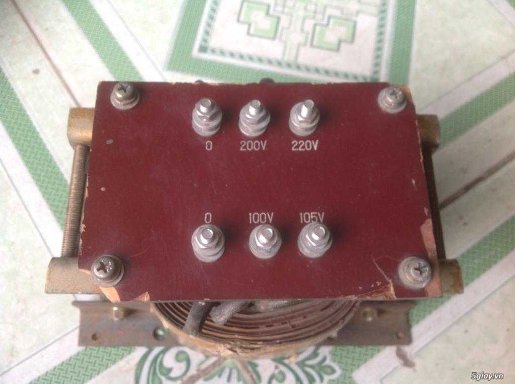 Biến áp cách ly Nhật 500VA -10KVA, lọc nguồn âm thanh..... - 24