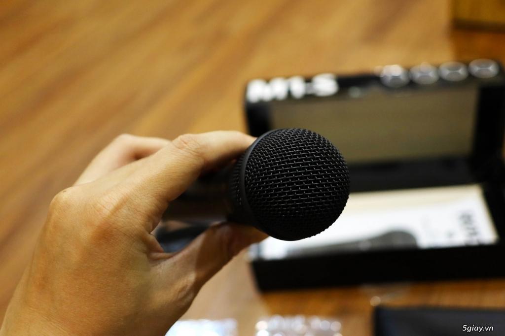 bán micro ghi âm rode m1s dynamic karaoke - 3