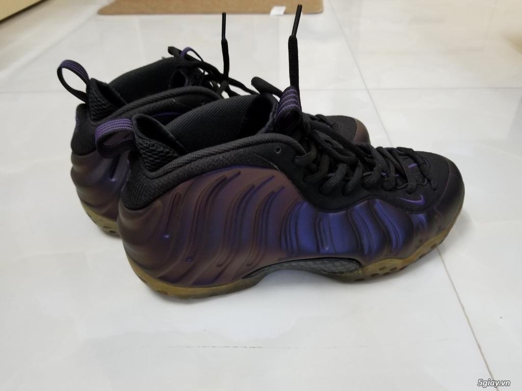 Nike foamposite eggplant real, size 43 cond cực cao - 1