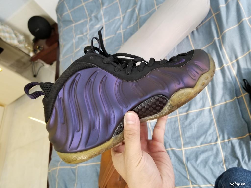 Nike foamposite eggplant real, size 43 cond cực cao - 3