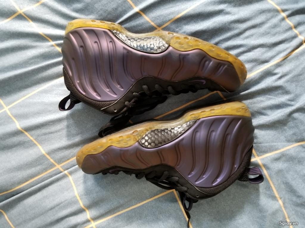 Nike foamposite eggplant real, size 43 cond cực cao - 4