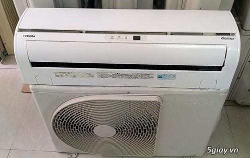 Máy lạnh cũ nội địa nhật Toshiba vào mùa mưa bão - 2