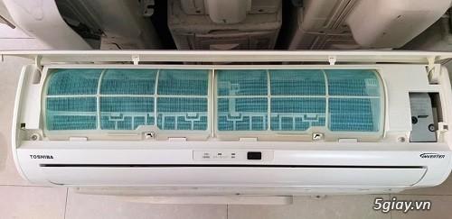 Máy lạnh cũ nội địa nhật Toshiba vào mùa mưa bão - 3
