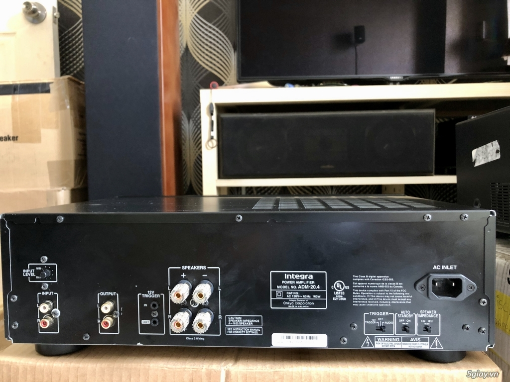 Ampli, CD, receiver, loa, subwoofer, center, surround các loại... - 6