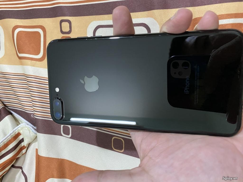 Iphone 7plus 128gb đen bóng