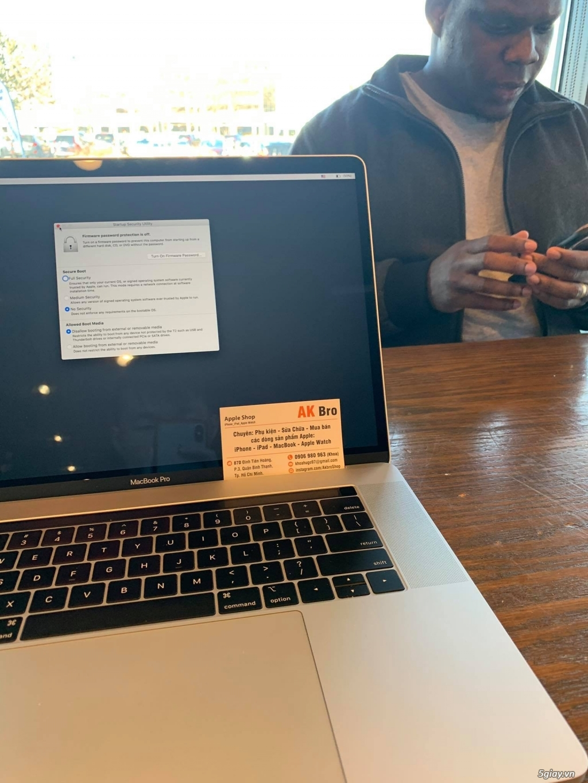 Macbook Pro 15 2018 MR932LL  Apple Care 2021 - 1