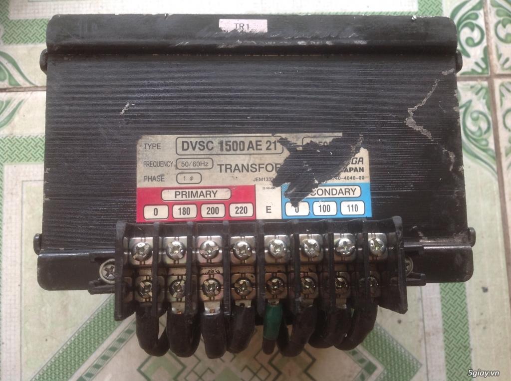 Biến áp cách ly Nhật 500VA -10KVA, lọc nguồn âm thanh..... - 7