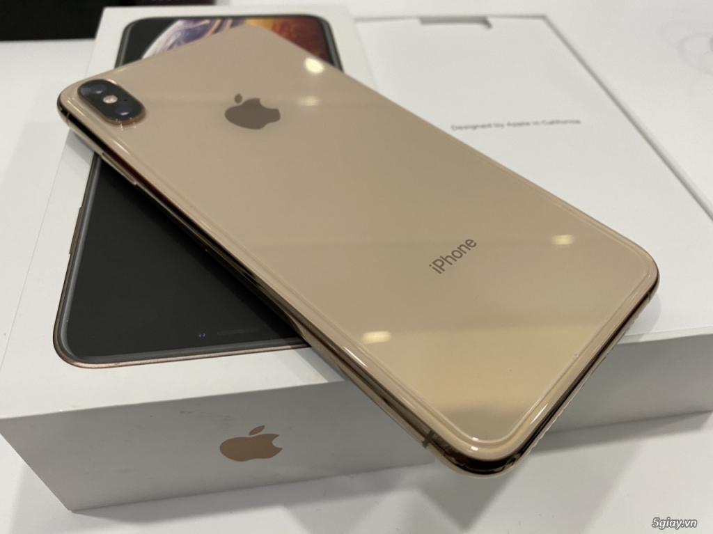 iPhone Xsmax-64Gb gold quốc tế Mỹ fullbox like new