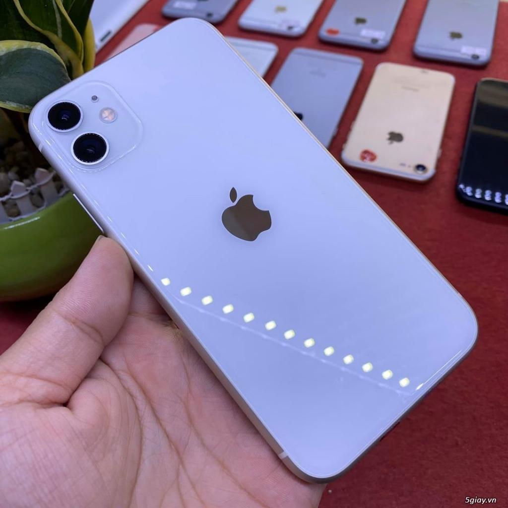 Apple iphone 11 64G màu trắng 99% bản quốc tế còn bảo hành 10/2020