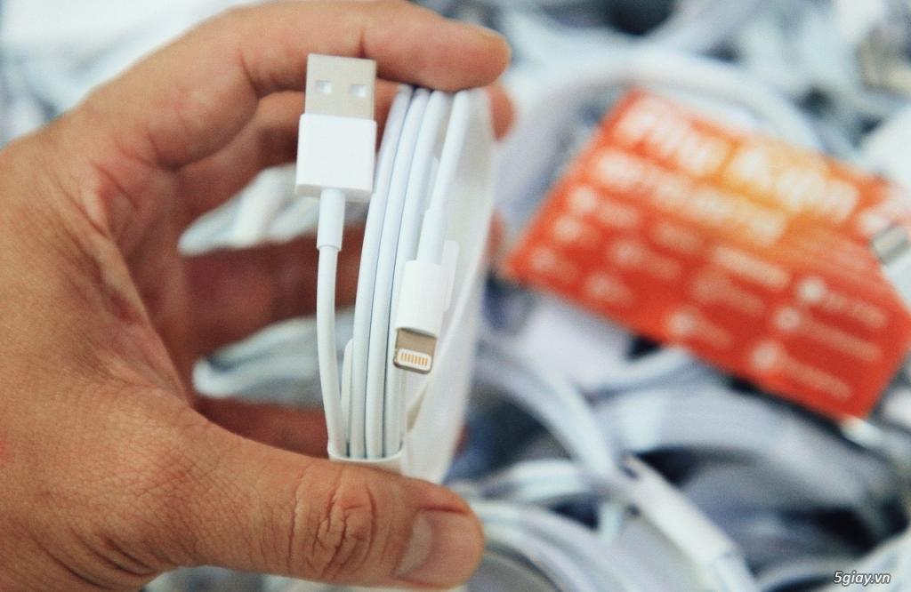 CHUYÊN SỈ VÀ LẺ - Sạc Cáp Zin,Tai Nghe Zin Máy iPhone/iPad Chính Hãng Apple Bảo Hành 12 Tháng. - 6