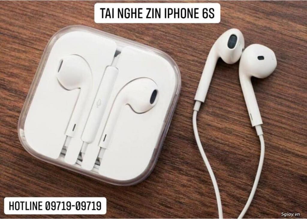 CHUYÊN SỈ VÀ LẺ - Sạc Cáp Zin,Tai Nghe Zin Máy iPhone/iPad Chính Hãng Apple Bảo Hành 12 Tháng. - 7