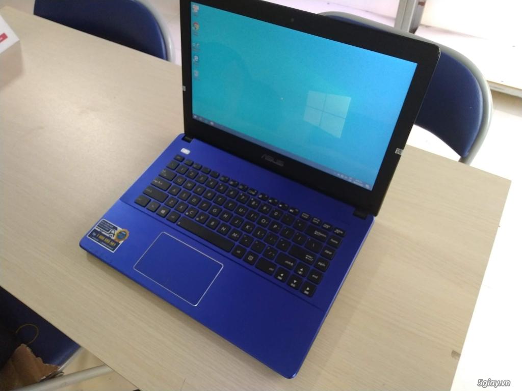 Laptop Asus X450CA xanh tím mộng mơ