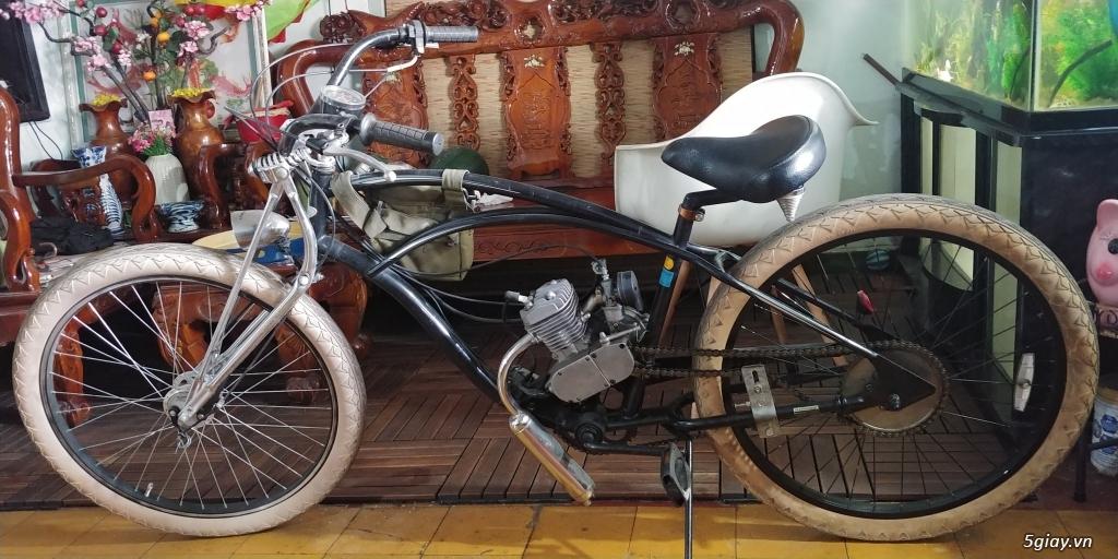 Xe đạp bãi biển Electra Mỹ gắn máy 2 thì