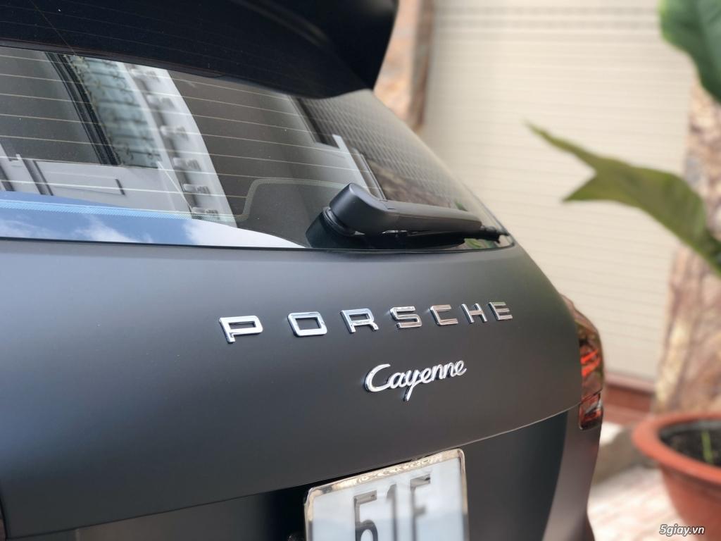 Posrche Cayenne mode 2015  nhập Đức ĐEN NHÁM - 4
