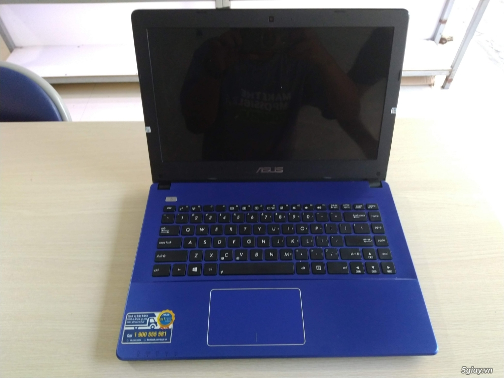 Laptop Asus X450CA xanh tím mộng mơ - 2