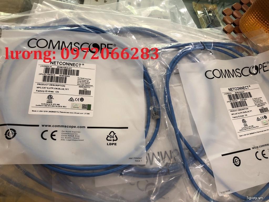 Dây nhảy patch cord 2m Cat6 Blue (NPC06UVDB-BL007F) commscope