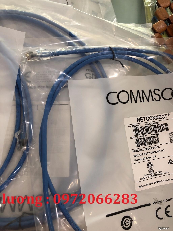 Dây nhảy patch cord 2m Cat6 Blue (NPC06UVDB-BL007F) commscope - 4