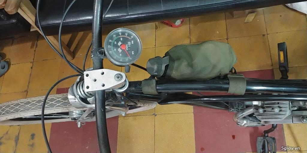 Xe đạp bãi biển Electra Mỹ gắn máy 2 thì - 1