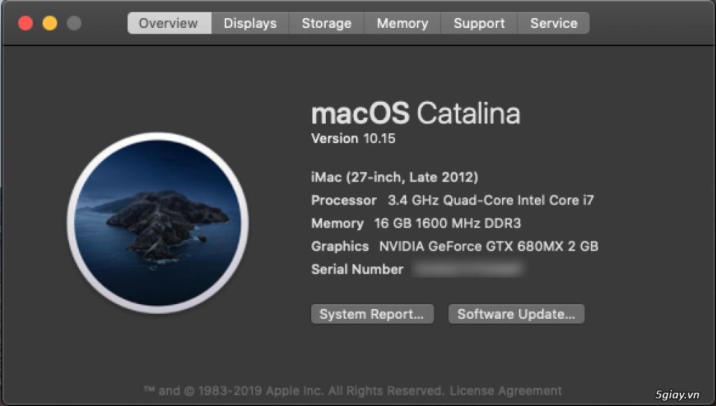 iMac 27 inch Late 2012 - 3