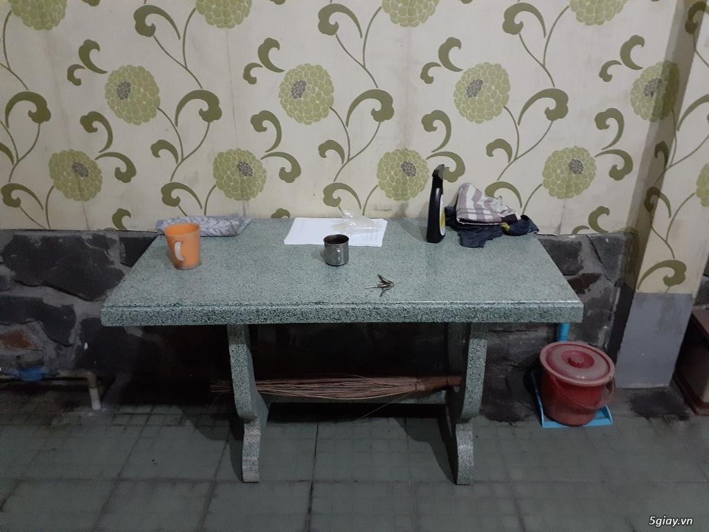 Bán bàn ghế ăn, sofa, bàn trang điểm, giường, nệm, tủ lạnh, bàn ghế đá