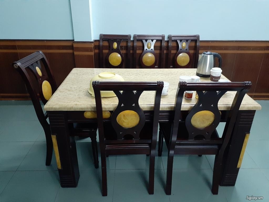 Bán bàn ghế ăn, sofa, bàn trang điểm, giường, nệm, tủ lạnh, bàn ghế đá - 2