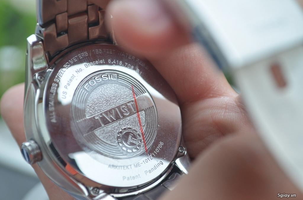 Đồng hồ FOSSIL TWIST bán tự động Nam rất đẹp, giá tốt - 8