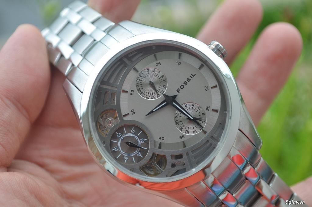 Đồng hồ FOSSIL TWIST bán tự động Nam rất đẹp, giá tốt - 2