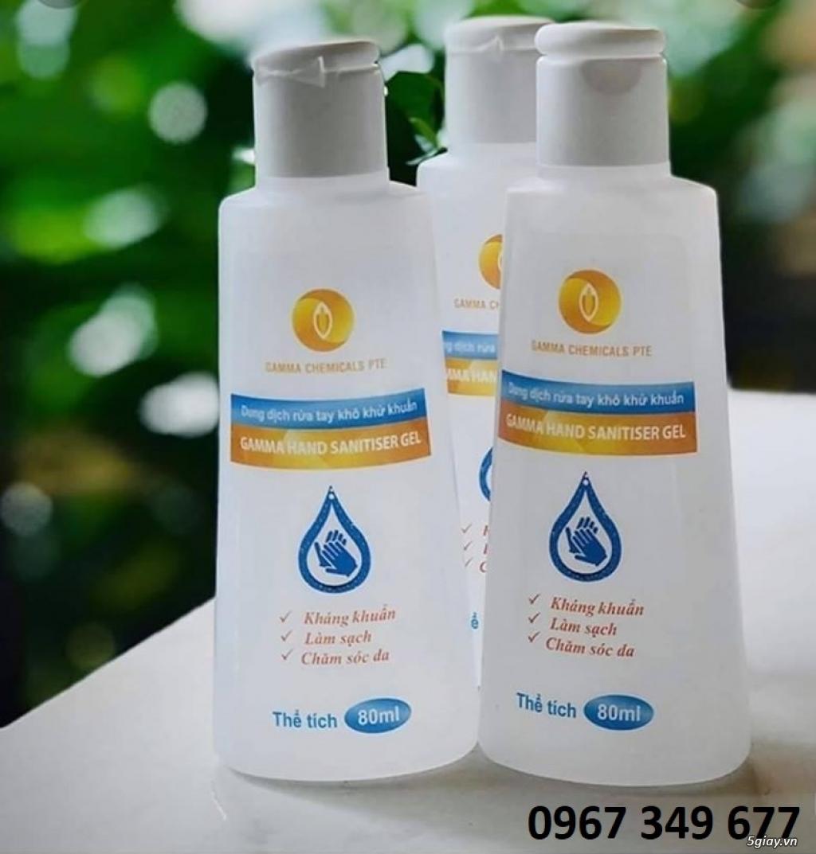 Dung dịch rửa tay khô diệt khuẩn(80ml) GAMMA CHEMICALS - 1
