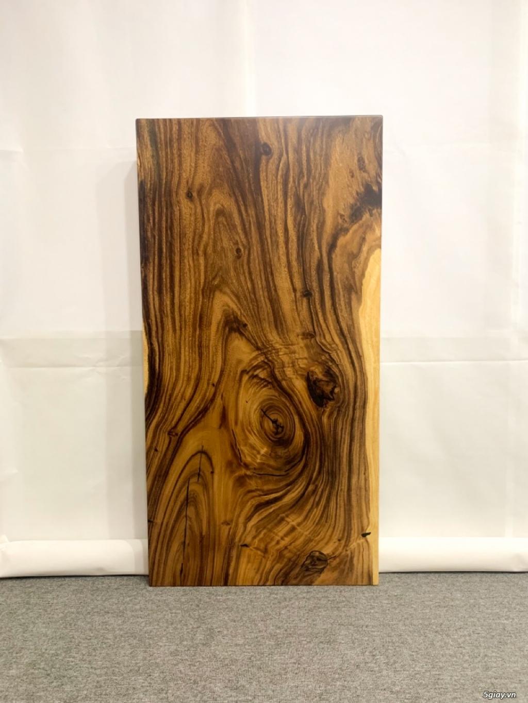 Bàn gỗ me tây nguyên khối KL20029 - 2