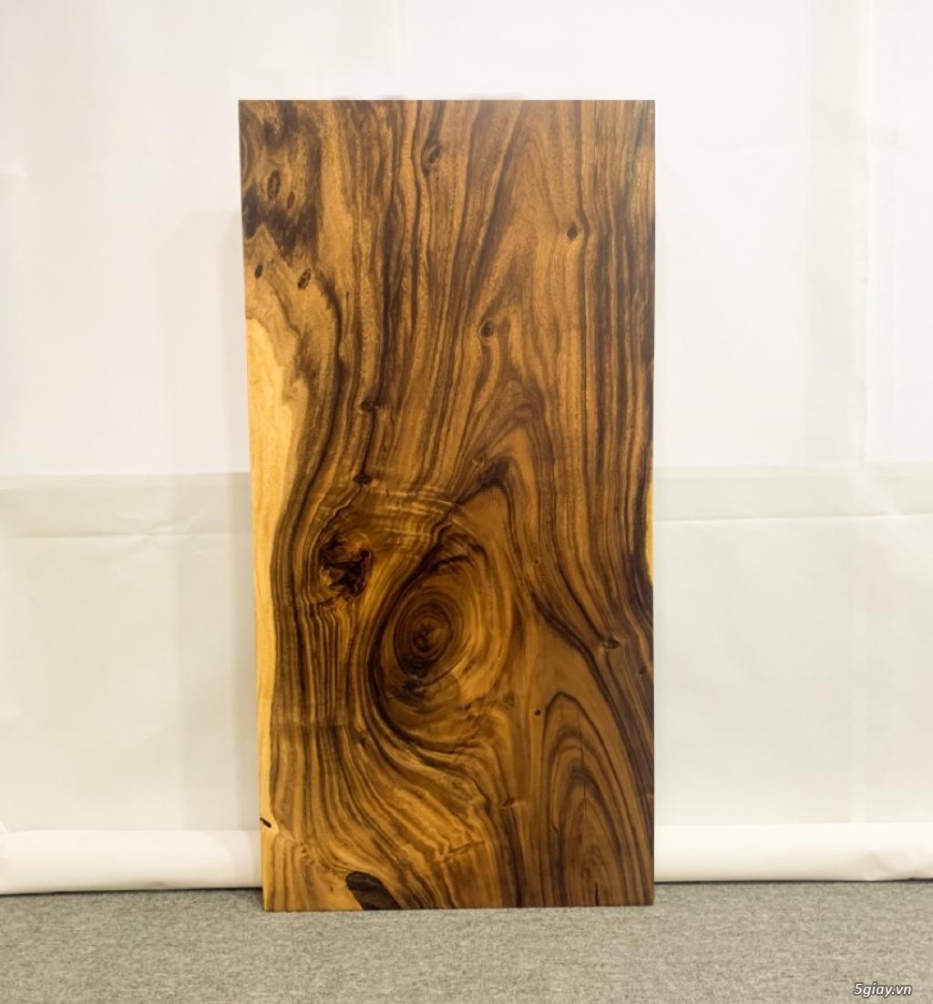 Bàn gỗ me tây nguyên khối KL20031