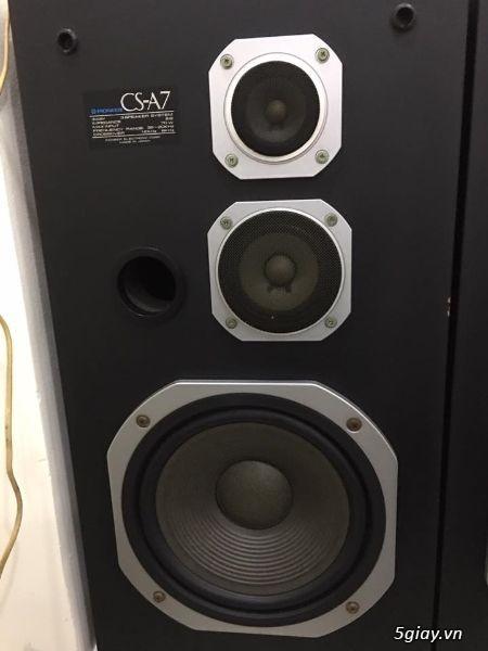 Loa pioneer csA7,Made in Japan,zin nguyên bản 100% - 2