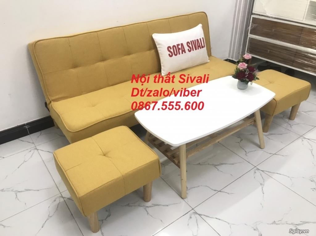 Bộ sofa bed sofa giường phòng khách - 8