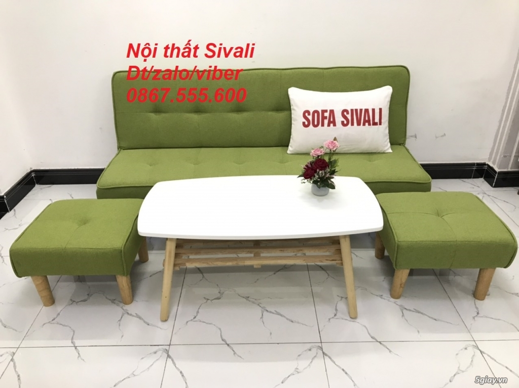 Bộ sofa bed sofa giường phòng khách - 3