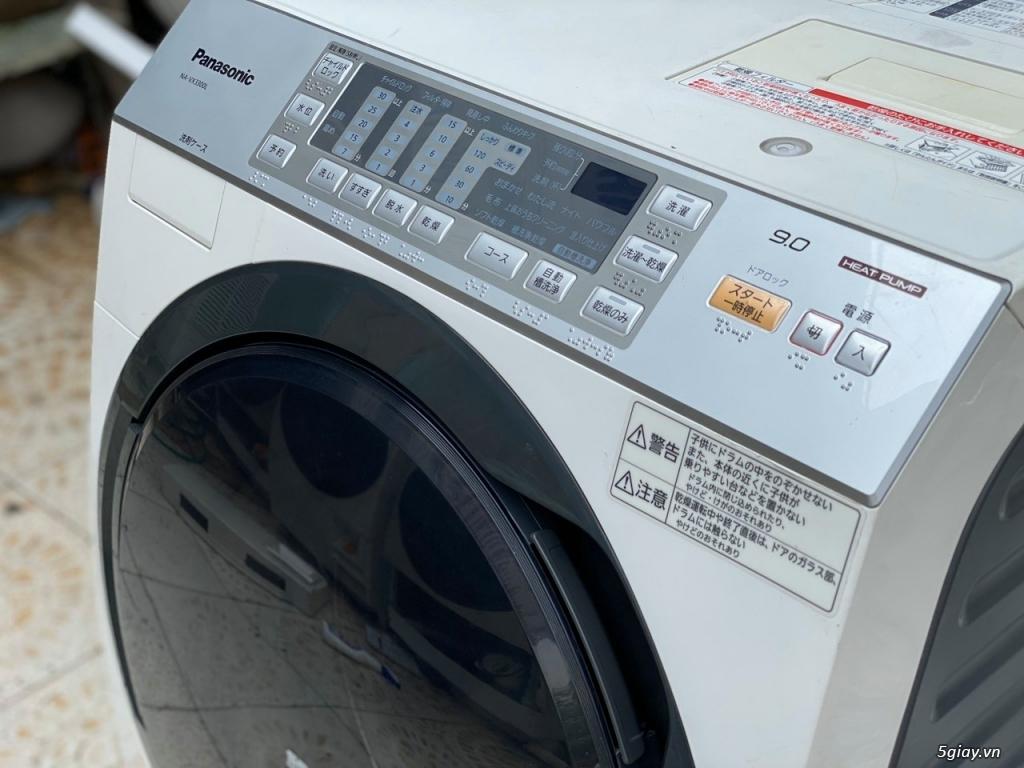 Máy giặt PANASONIC NA-VX3300L giặt 9kg sấy Block 6kg đời 2013Màu trắng - 2