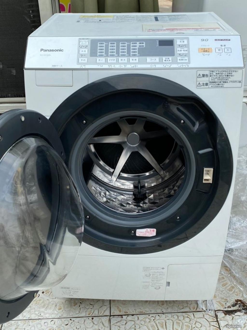 Máy giặt PANASONIC NA-VX3300L giặt 9kg sấy Block 6kg đời 2013Màu trắng - 1