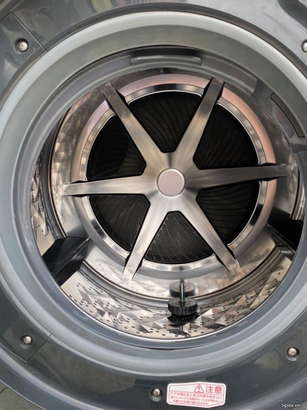 Máy giặt PANASONIC NA-VX3300L giặt 9kg sấy Block 6kg đời 2013Màu trắng - 3