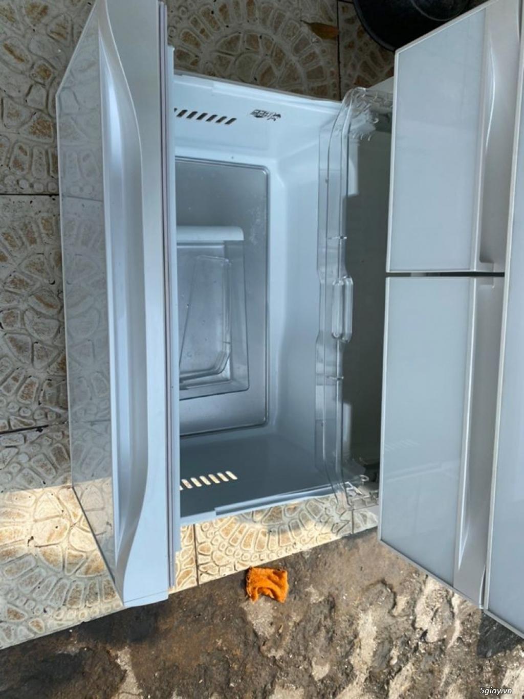 Tủ lạnh TOSHIBA GR - G51FXV (ZW) 510L date 2013, màu trắng - 5