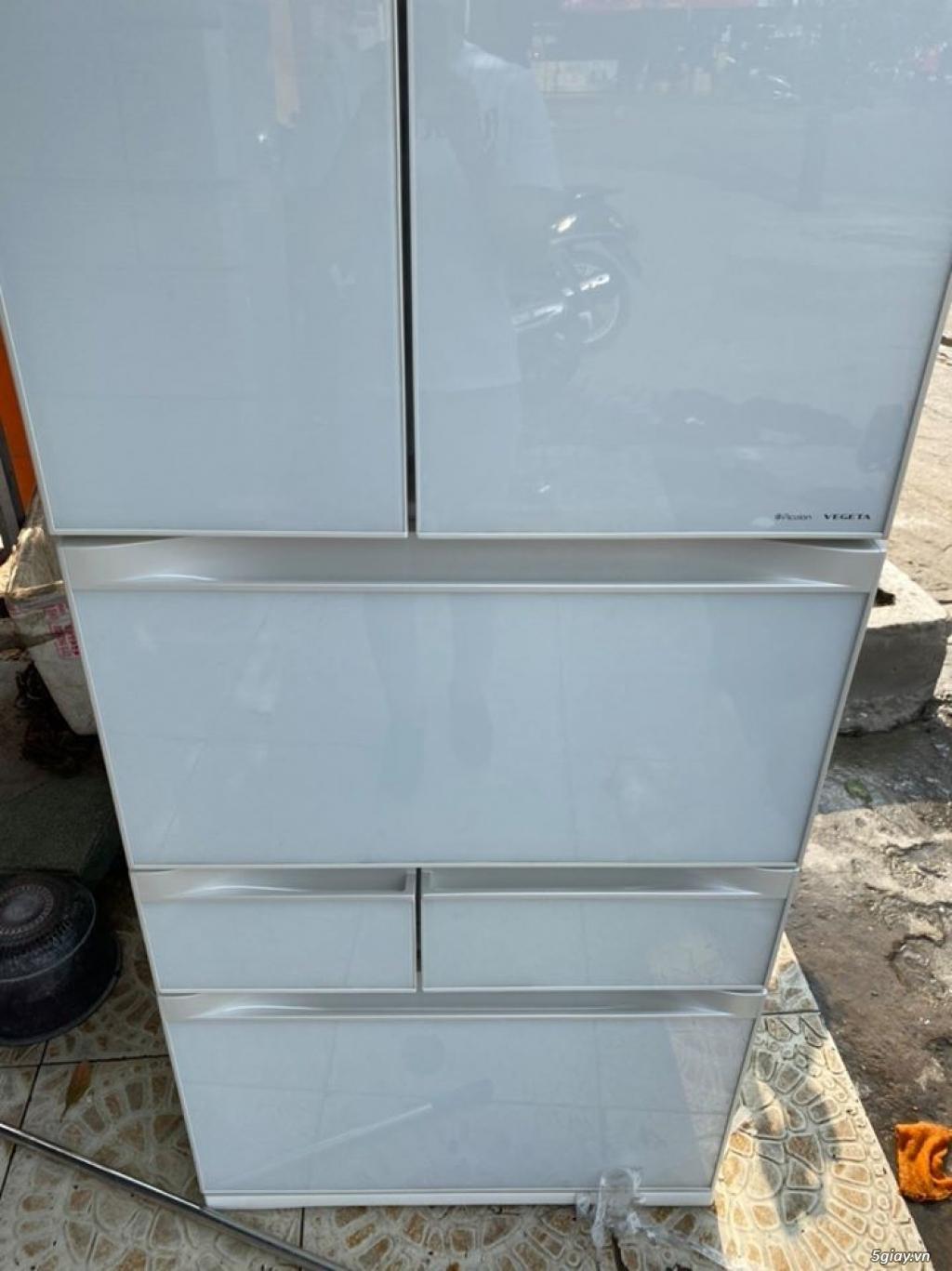Tủ lạnh TOSHIBA GR - G51FXV (ZW) 510L date 2013, màu trắng - 1