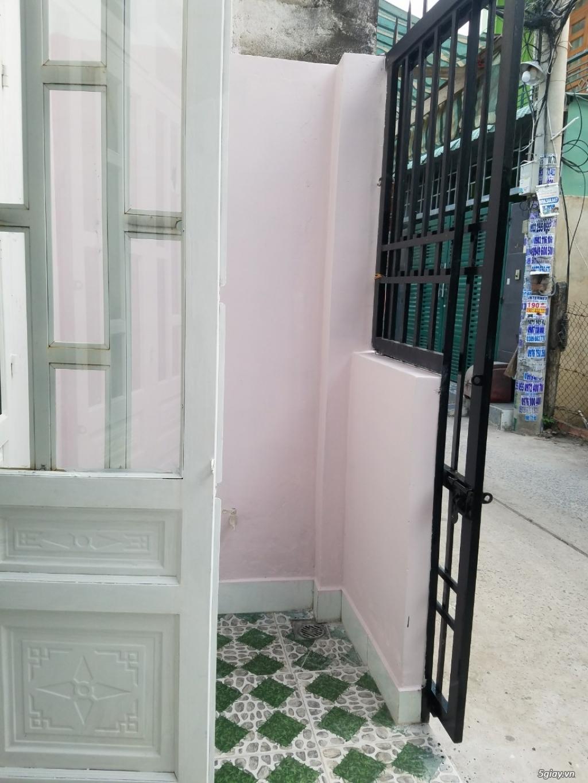 Nhà Q12 mới đẹp HXH thông xe tải ra Lê Văn Khương dt đất gần 40m2-3,5x11,4.  Sổ hồng riêng. - 2
