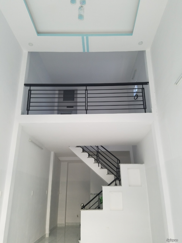 Nhà Q12 mới đẹp HXH thông xe tải ra Lê Văn Khương dt đất gần 40m2-3,5x11,4.  Sổ hồng riêng. - 1
