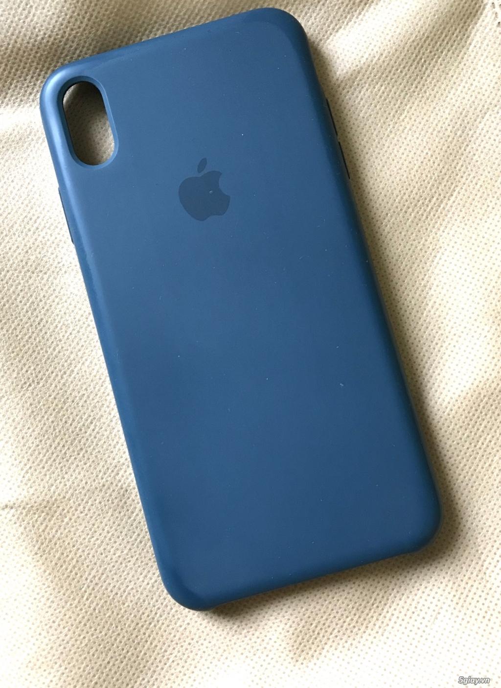 Ốp lưng iphone xsmax màu xanh dương
