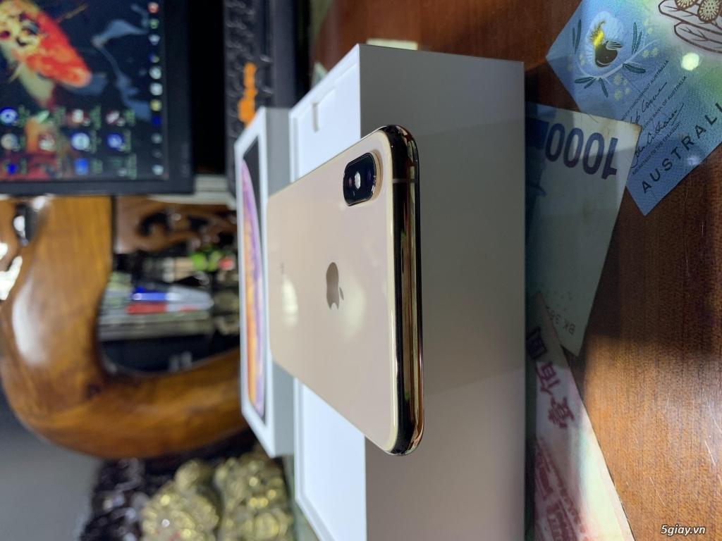 Bán iPhone XS Max 256G Gold Quốc Tế Pin Nguyên Bản 100% BH 18/05/2020 - 6