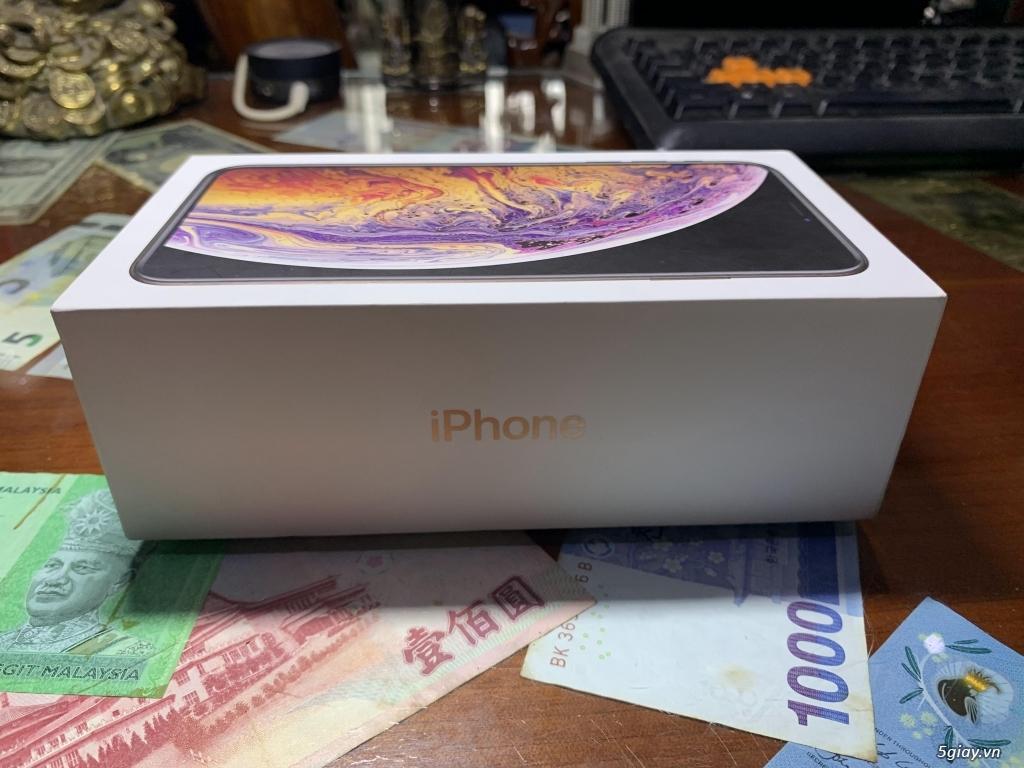 Bán iPhone XS Max 256G Gold Quốc Tế Pin Nguyên Bản 100% BH 18/05/2020