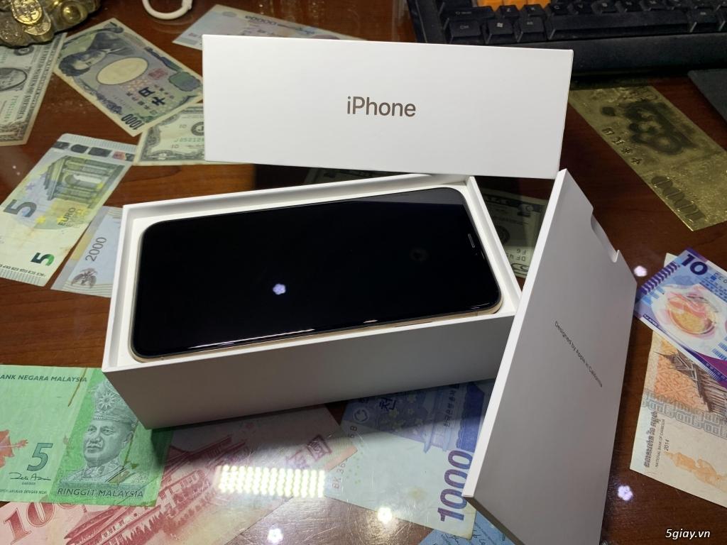 Bán iPhone XS Max 256G Gold Quốc Tế Pin Nguyên Bản 100% BH 18/05/2020 - 1