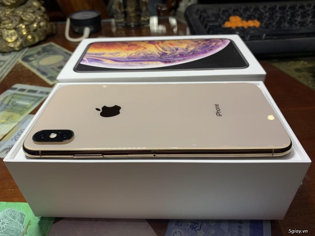 Bán iPhone XS Max 256G Gold Quốc Tế Pin Nguyên Bản 100% BH 18/05/2020 - 2